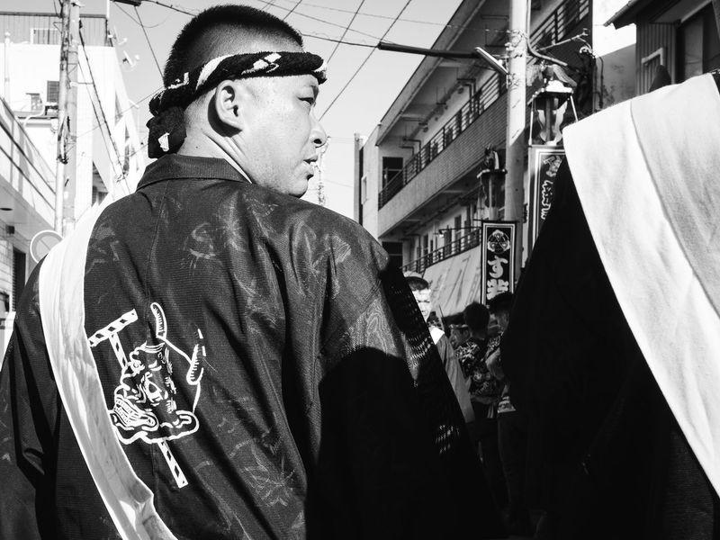 japanese bad guy B&W Portrait Monochrome Carnival