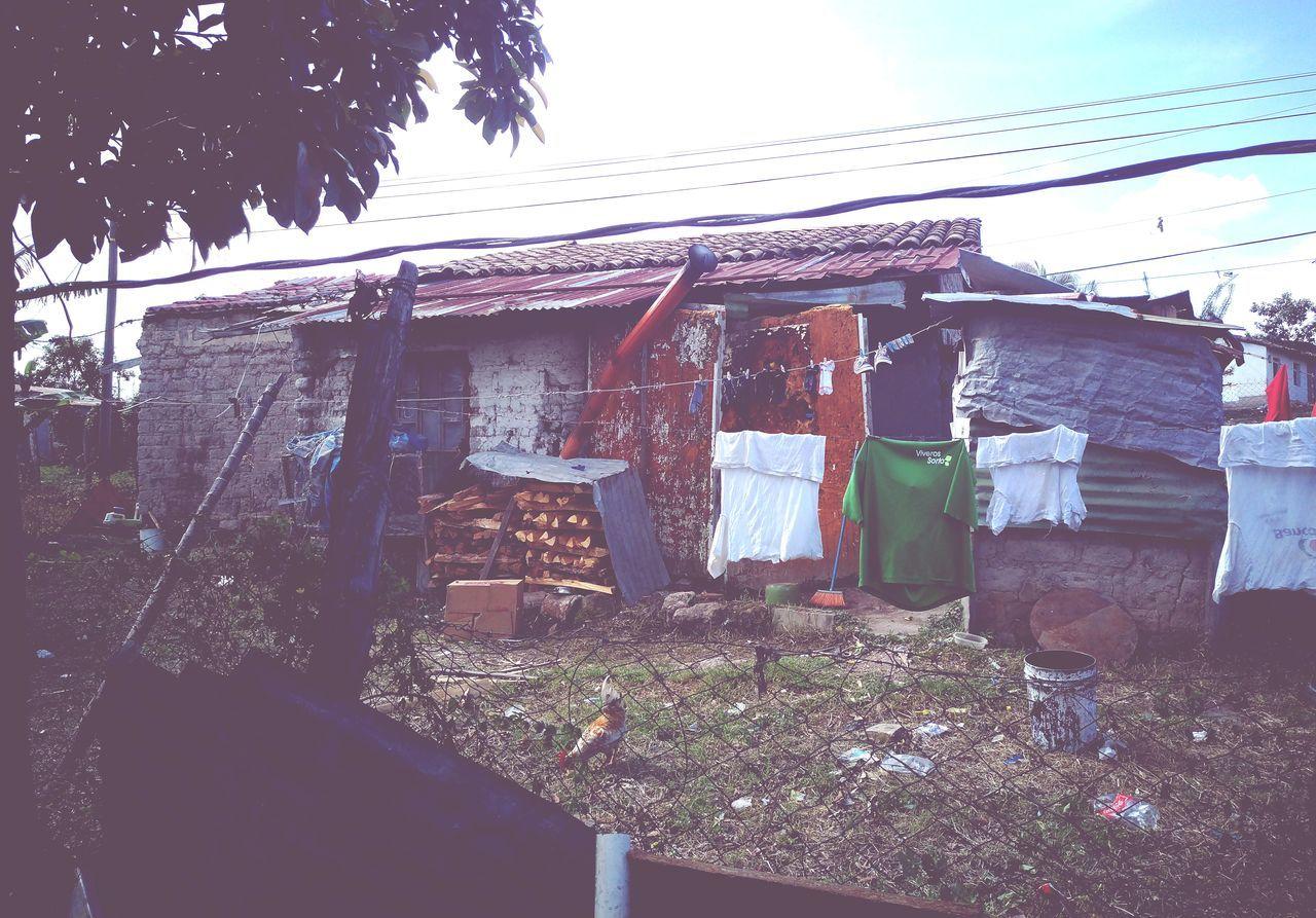 Honduras No People Built Structure Pore Living Conditions