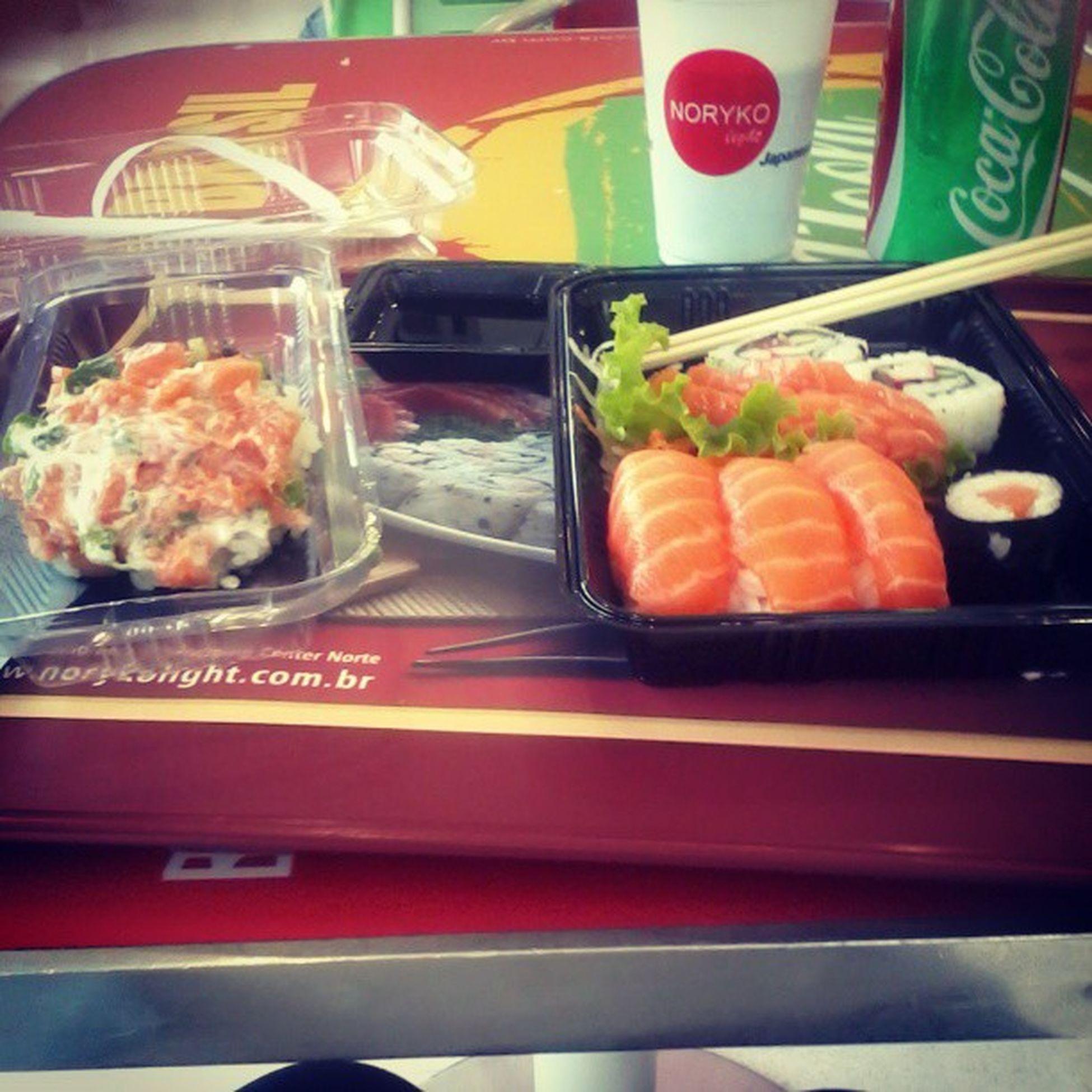 Mandando um japa sozinha :) Daoraavida Delicia Japanesefood