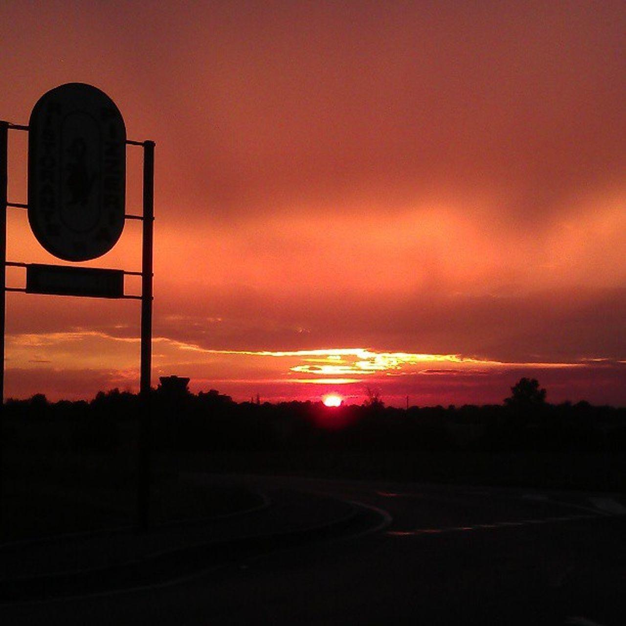 Sunset Sunset Silhouettes
