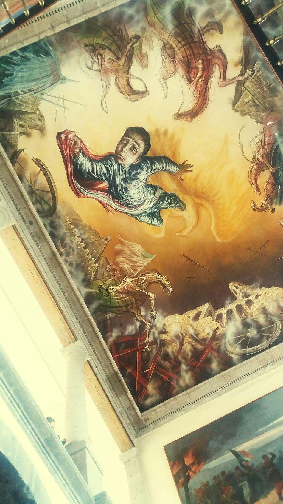 Museo Castillodechapultepec Arte Pinturasmurales Mural Ciudad De México Artemexicano