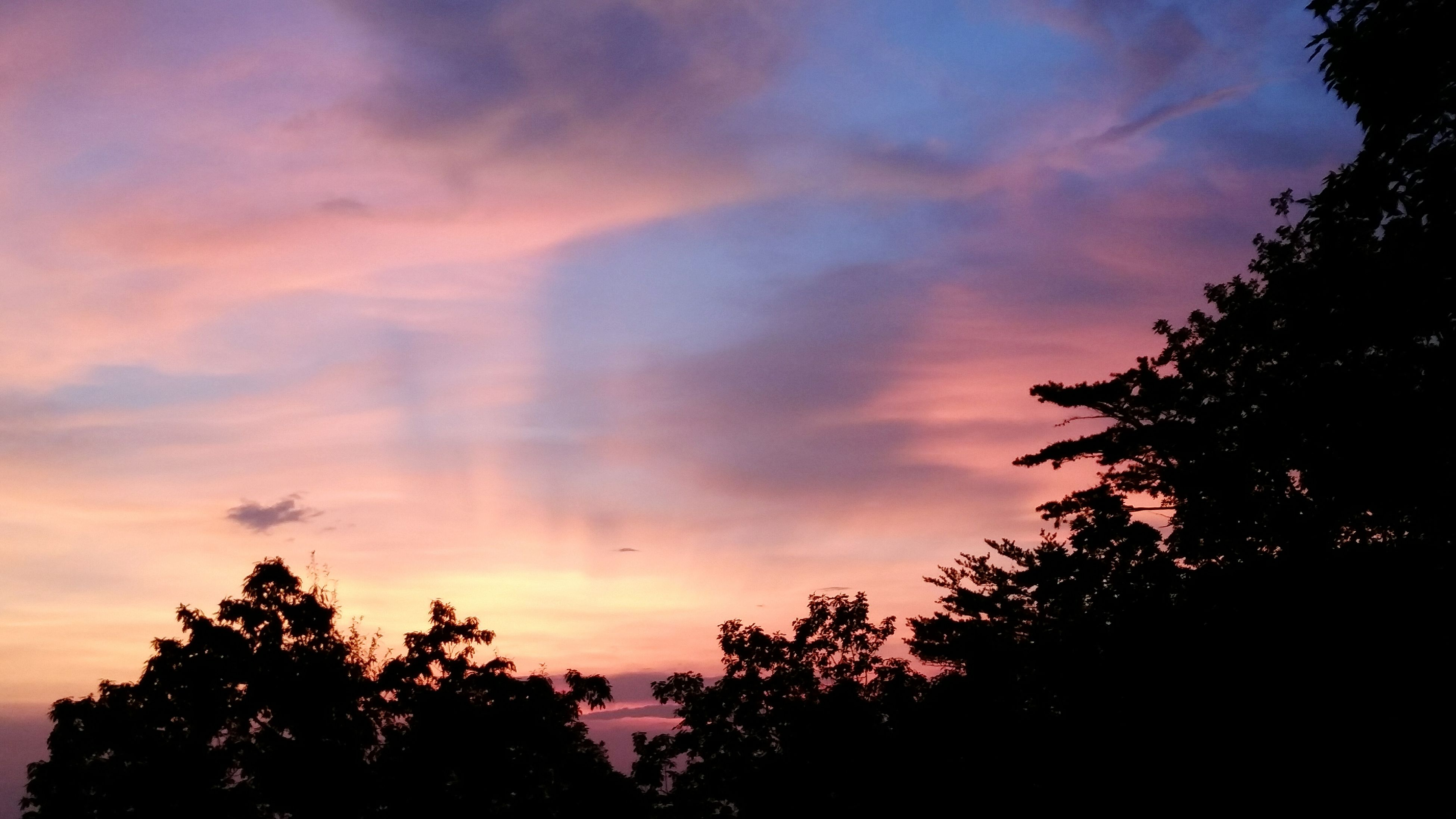 Beautiful sunset, from Cheaha State Park. Sunset State Park  Alabama Cheaha State Park Talladega National Forest