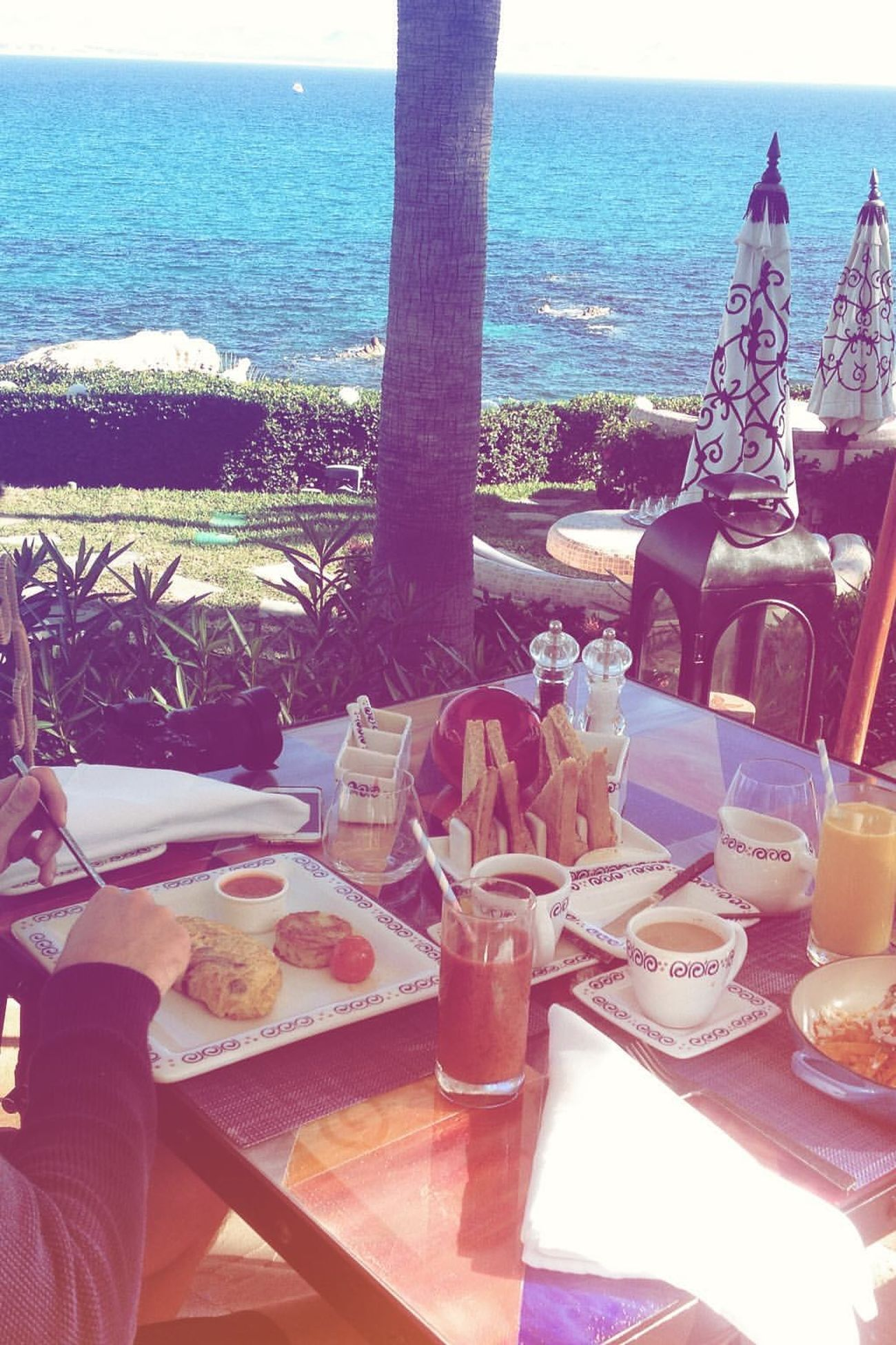 Lovely breakfast at One&Only Palmilla in Los Cabos, Baja California Sur Baja California Sur Beach Breakfast ♥ Discover Mexico Los Cabos Mexico San José Del Cabo Vacations