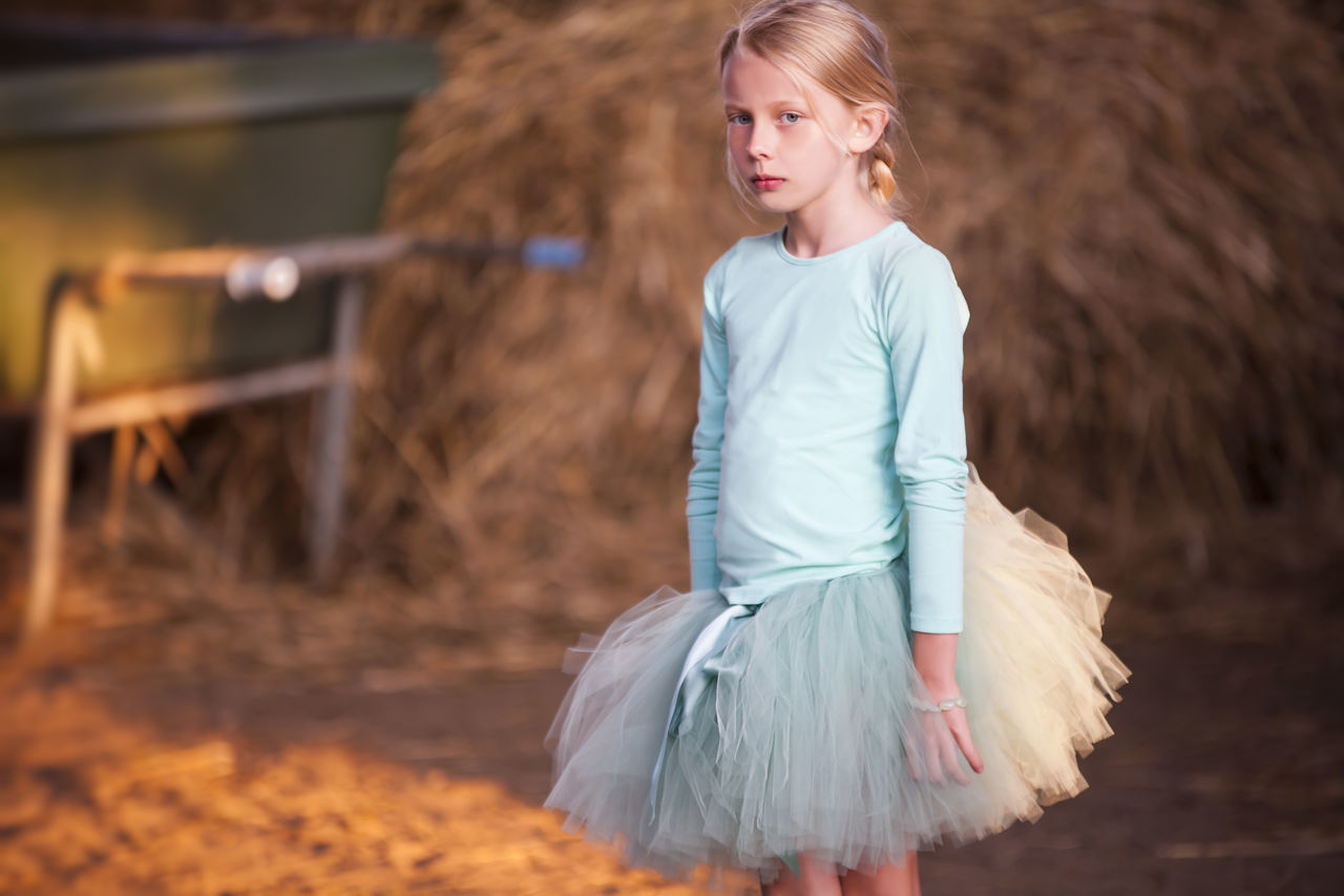 Blond Hair Child Childhood Children Only Close-up Day Fashion Nature One Girl Only One Person Outdoors People Real People Tutu Tutudress