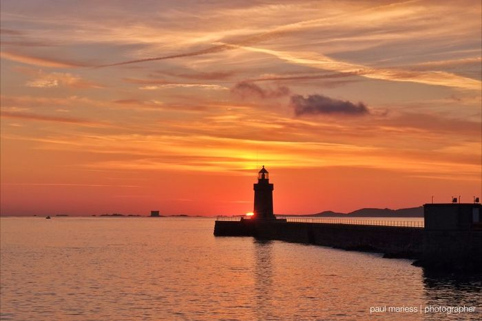 Guernsey Eye4photography  EyeEm Best Shots Seascape Sunrise_sunsets_aroundworld Clouds And Sky Eyem Best Shots Sea And Sky Sunset Silhouettes