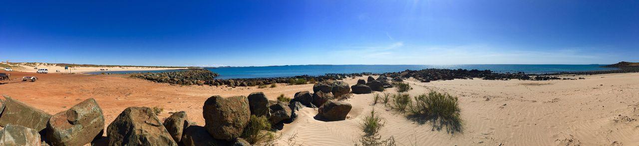 Port Walcott Western Australia Panorama Panoramic Panoramic Photography Pano Panoramic View Panoramic Landscape Panoramashot Ocean Ocean View Ocean❤ Sea Sea And Sky Seascape Rocks Rocks And Water