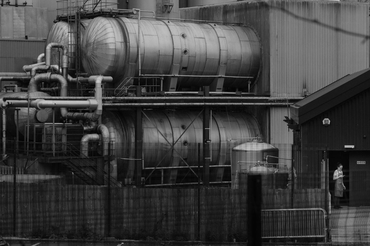 The Street Photographer - 2017 EyeEm Awards Glasgow  Brewery Blackandwhite Factory Outdoors Day