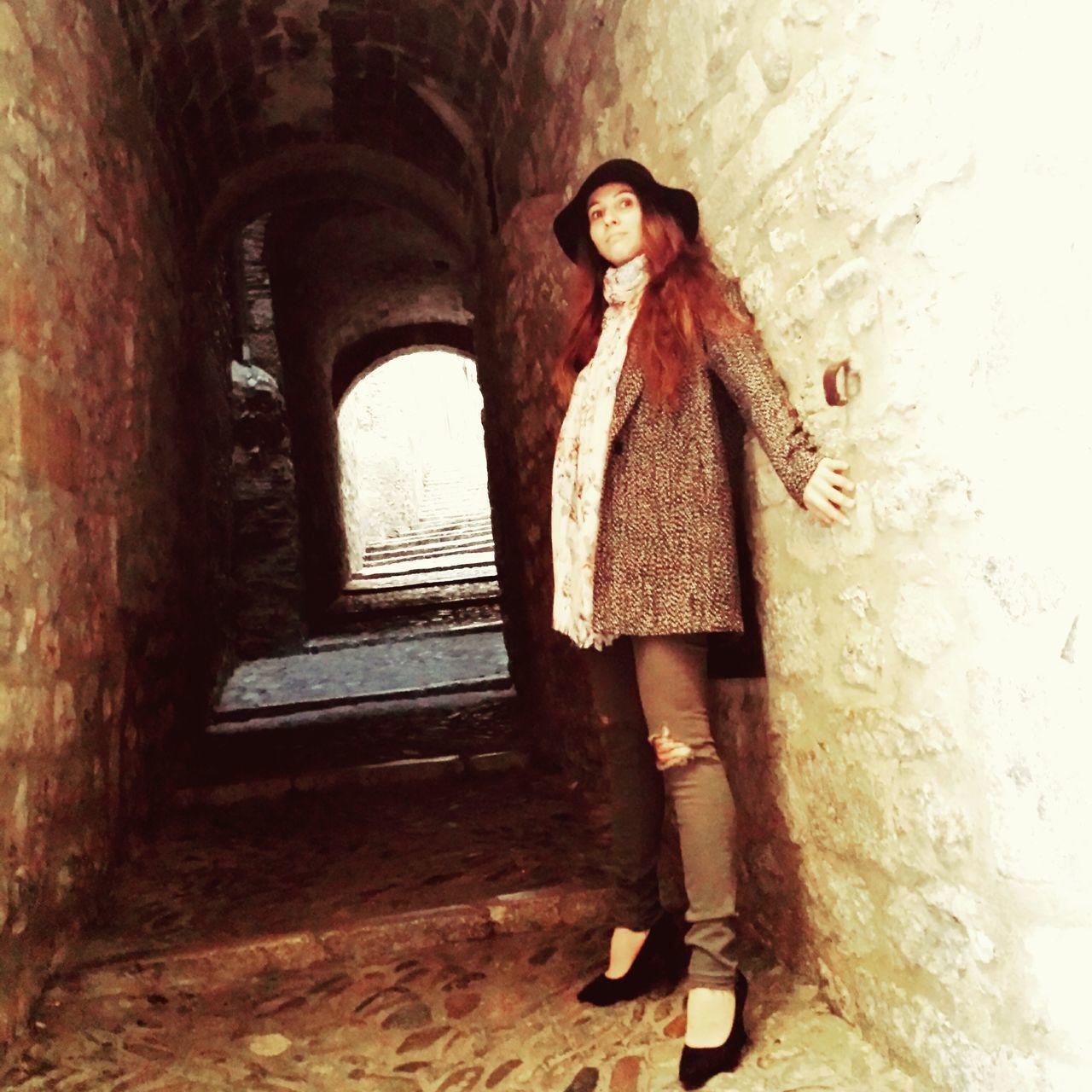 Gironamenamora Gironastreetphotography Catalunyaexperience Medieval Architecture Me Street Photography Color Photography