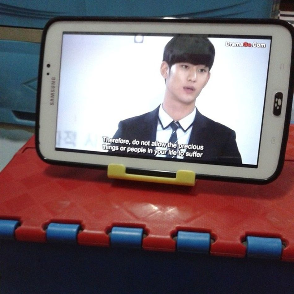 Now Watching ;) My love From The Star :D Episode 3 ♡ Mlfts Kdrama