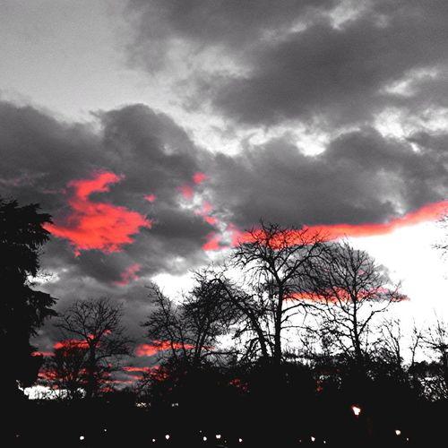 Blackandwhite Clouds And Sky Ski Bright Light In A Dark World