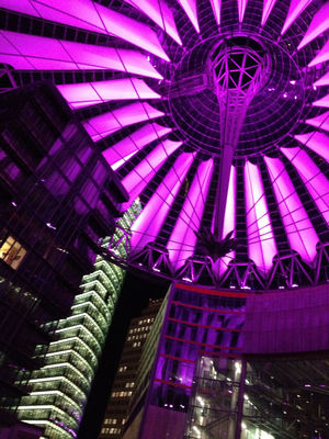 Architecture at Sony Center by ansgar