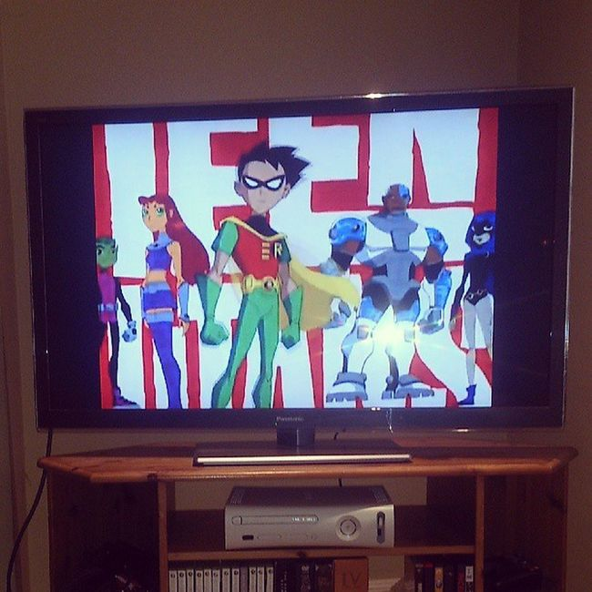 Best way to start the day Saturday Morning Cartoons Teentitans lateupload