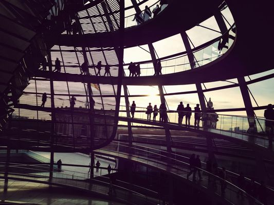 visiting at Reichstag by drowned in caffeine