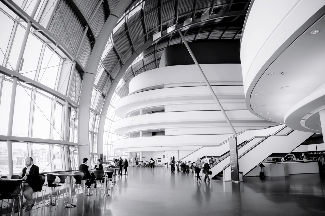 The Architect - 2017 EyeEm Awards Thesagegateshead Indoors  Travel Large Group Of People Real People Men Journey Architecture Passenger Walking Transportation Built Structure Travel Destinations Modern Business Travel Futuristic Luggage Commuter Businessman People EyeEm Gallery Nikond750