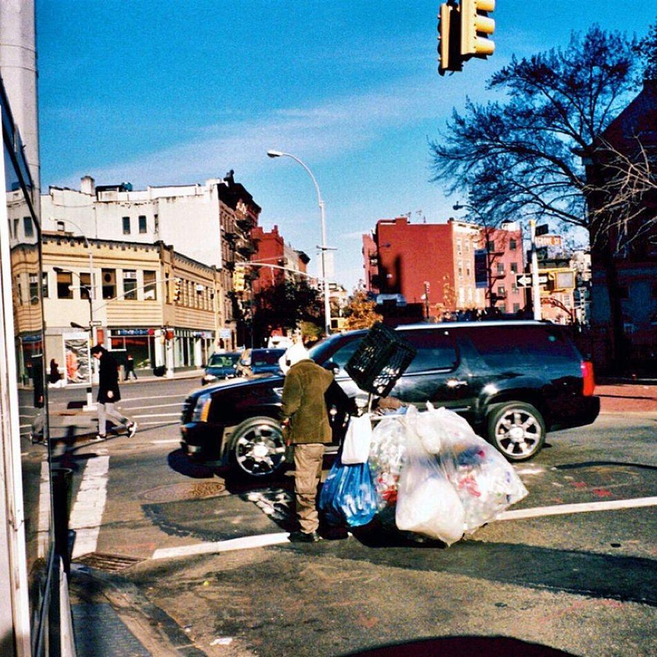 Walking Around Klasse W Real Film NYC Photography