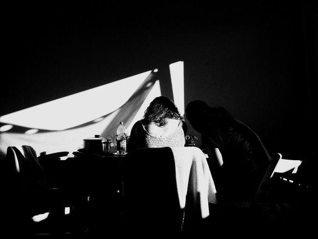 Blackandwhite Black And White Black & White Blackandwhite Photography Woman Light Light And Shadow