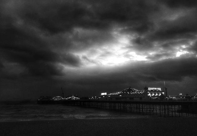 Brighton Beach Shootermag Grryo Blackandwhite AMPt Community Landscape