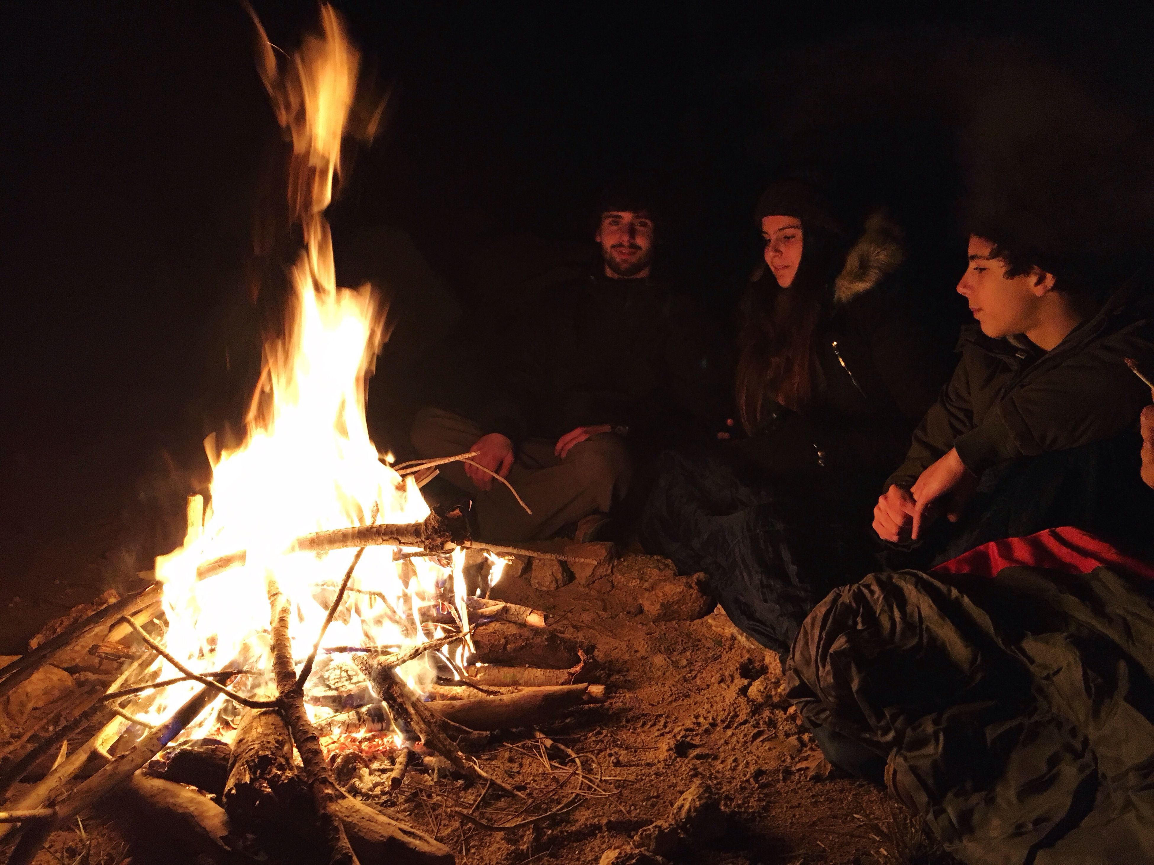 fire - natural phenomenon, flame, winter, night, heat - temperature, archival, burning, adventure, group of people, camping, friendship, adults only, illuminated, people, young adult, adult, only men, outdoors