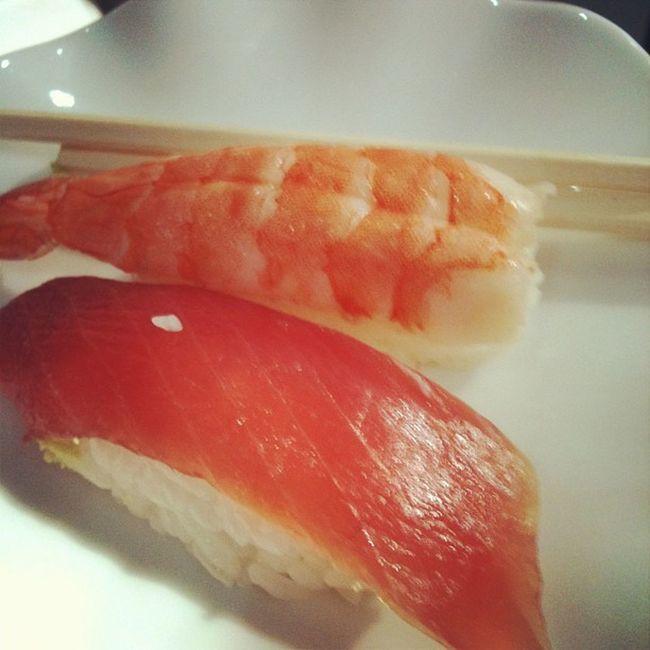 Sushi and beer courtesy of Hitachidatasystems Hitachi Mwc2013