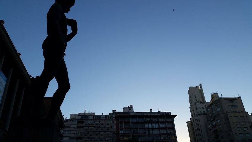 Business Finance And Industry Architecture Outdoors Day City Sky Clear Sky People David Statue Of David