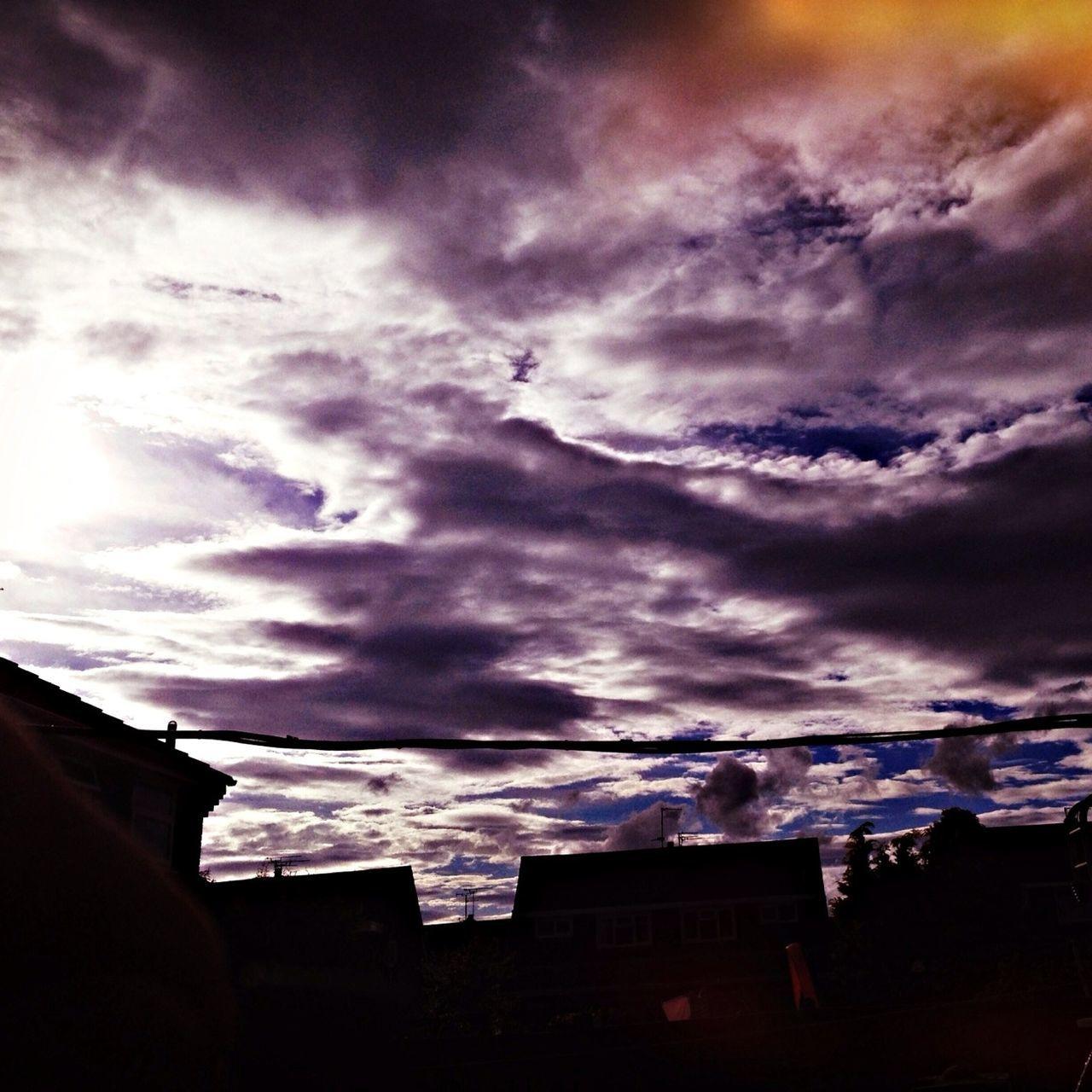 #sunset #sun #clouds #skylovers #sky #nature #beautifulinnature #naturalbeauty #photography #landscape EyeEm Best Shots - Sunsets + Sunrise My Sky Obsession... Shot From My Garden