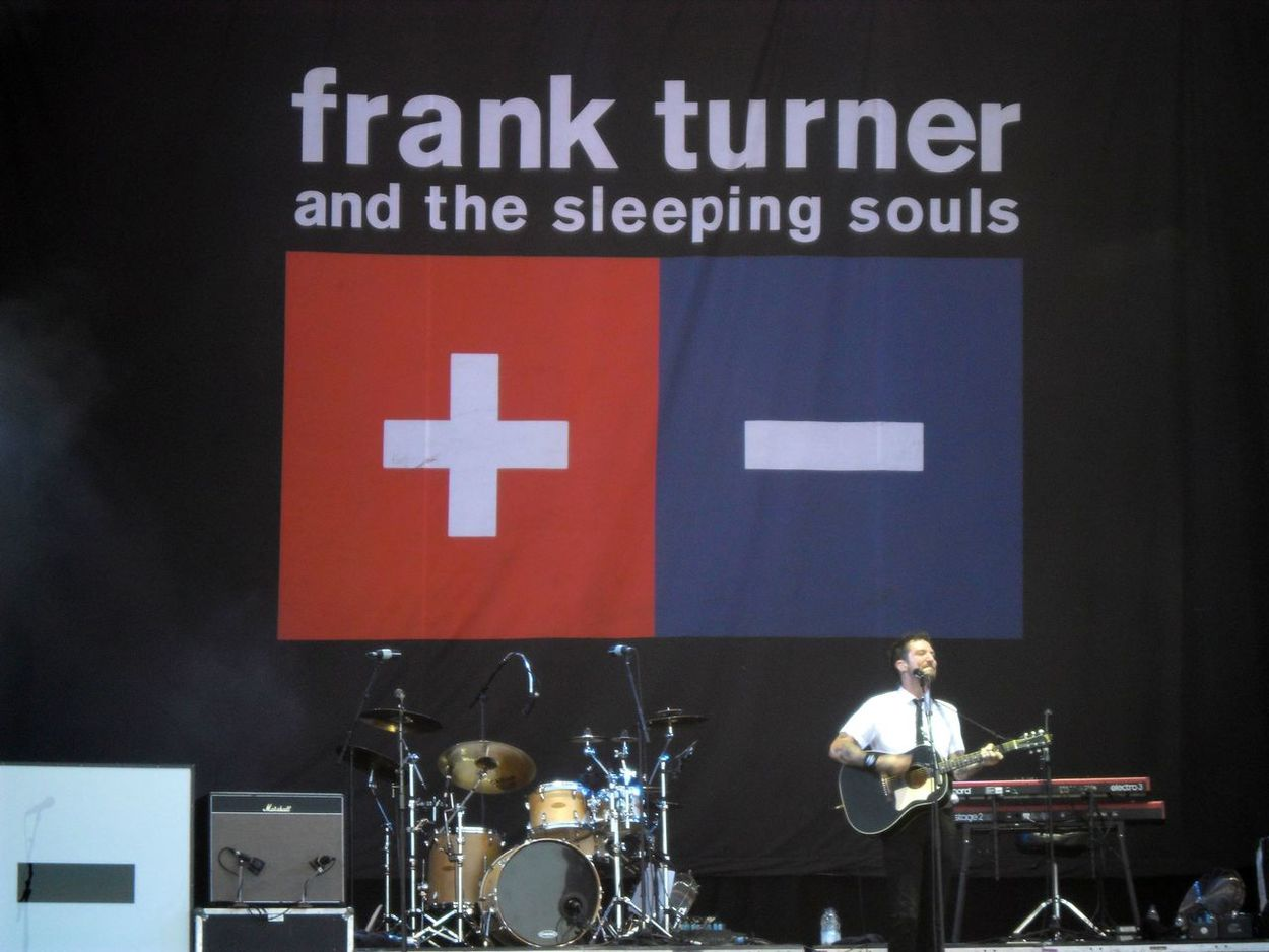 Frank Turner and the Sleeping Souls, Reading Festival 2016. Concert Frank Turner  Frank Turner And The Sleeping Souls Gig Music Music Brings Us Together Outdoors Reading Festival Reading Festival 2016 Sleeping Souls