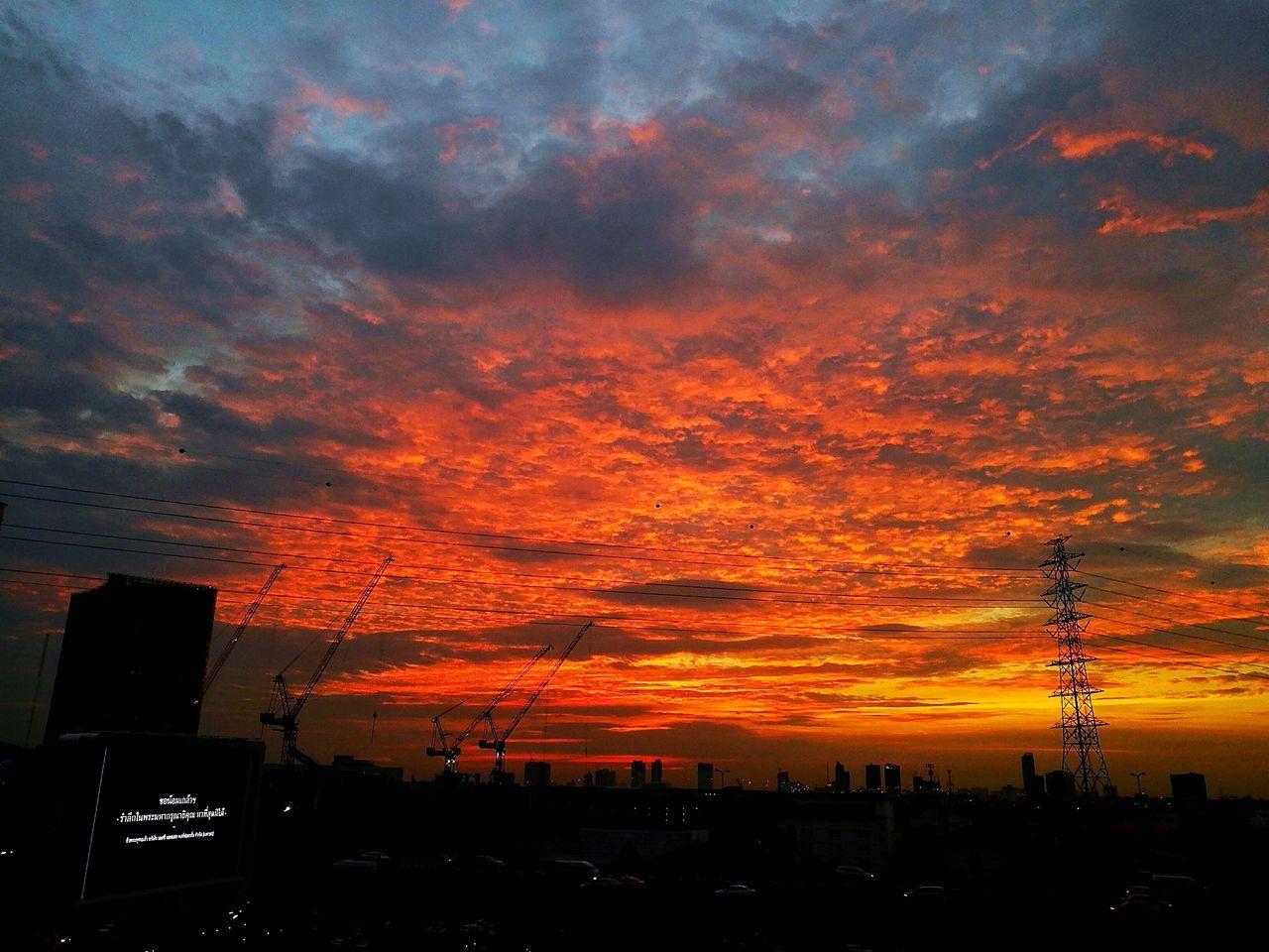 sunset, orange color, silhouette, architecture, built structure, dramatic sky, building exterior, sky, no people, city, cloud - sky, outdoors, travel destinations, beauty in nature, nature, cityscape, skyscraper, urban skyline