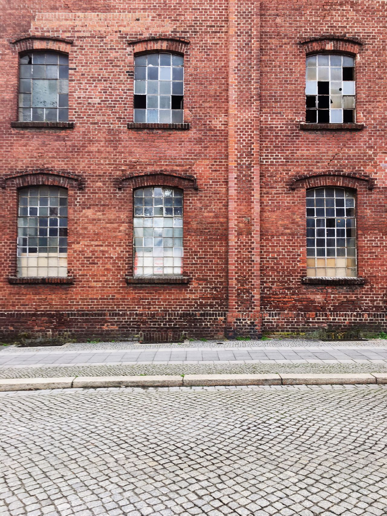 Old Industry Building Germany Görlitz Brick Wall Building Industry Built Structure Architecture No People Brick Wall Working Day Crafts Construction Outdoors Build