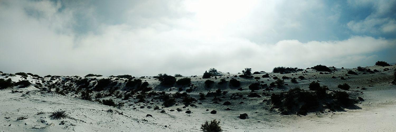 Dunas se Yeso, Cuatrocienegas. Panorama Dunas De Yeso Paisaje Natural