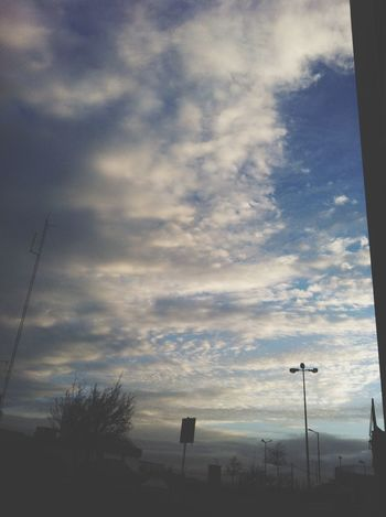 How the sky was this morning, love it Clouds And Sky