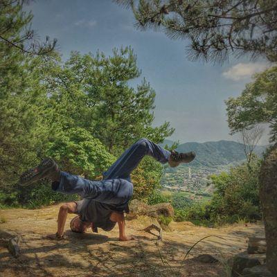 Chair Hillclimbing Landscape