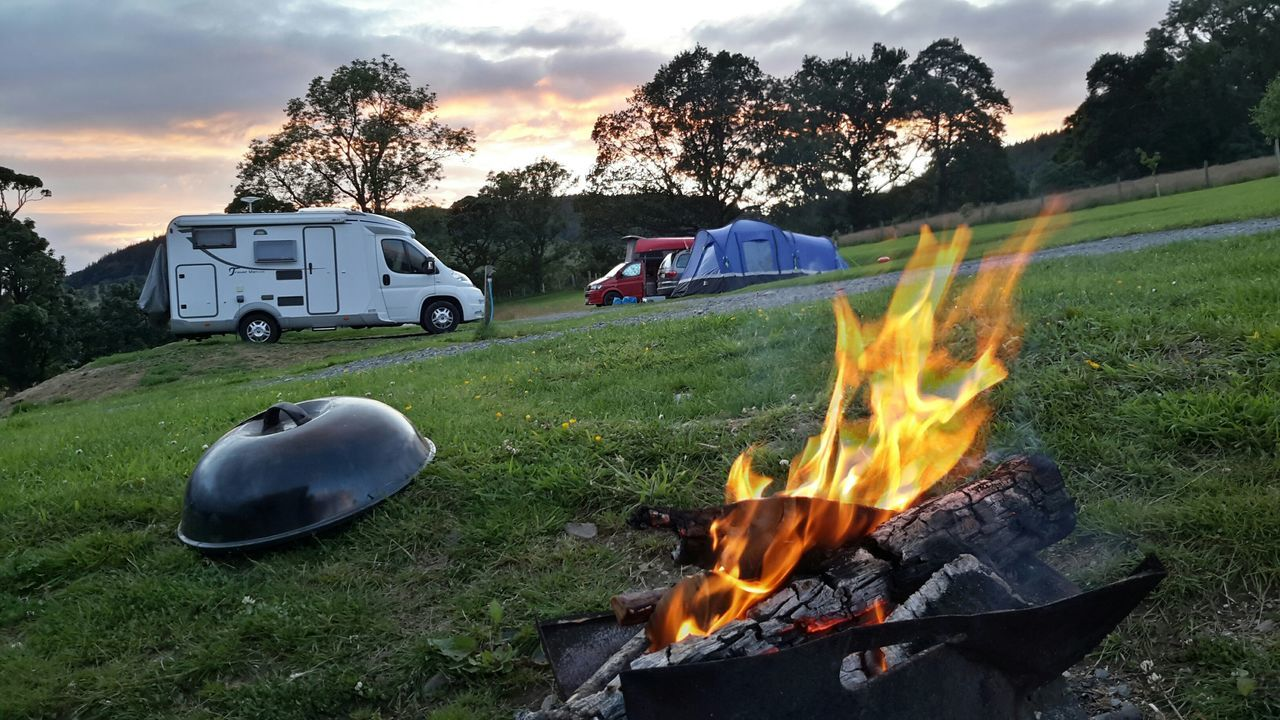 Hello World Rural Ruralphotography Campfire Mountain Biking What I Value The Week On Eyem Wigwam Holiday Glamping Holiday