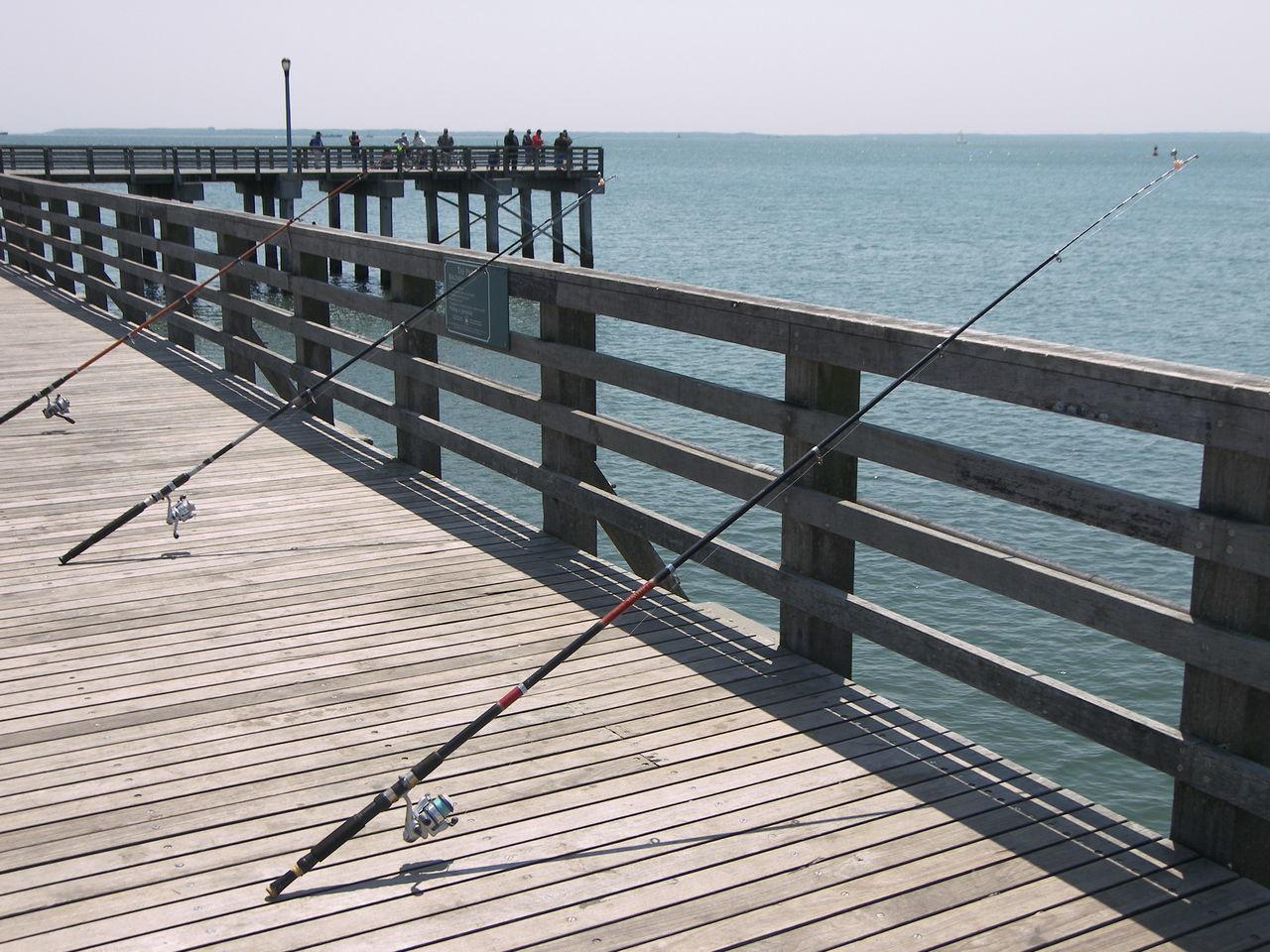 Beautiful stock photos of engel, Coney Island, Day, Fishing Rod, Horizon Over Water