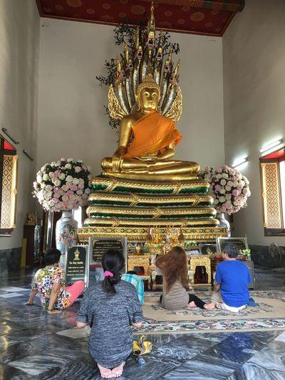 Wat Pho Thailand The Prayer
