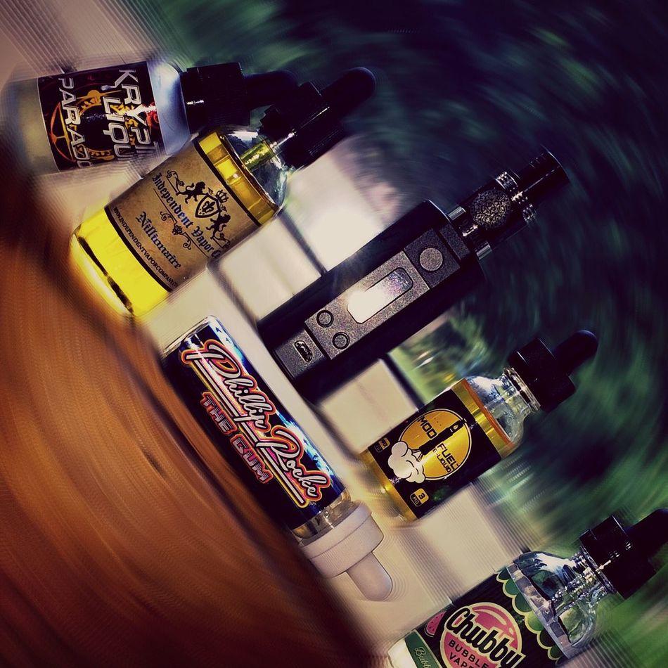 What's your favorite flavor??? Vape Cloudchaser VapeLife Eliquid Lifestyles Rda