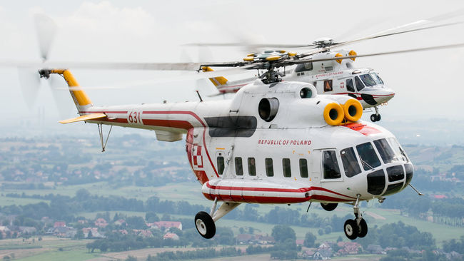 Aerial Airbase Airforce Airlift Airport Avgeek Aviation Base Cracow Day Flying Forest Formation Helicopter MI8 Military Photography Polish Shot Transport View Vip Warsaw