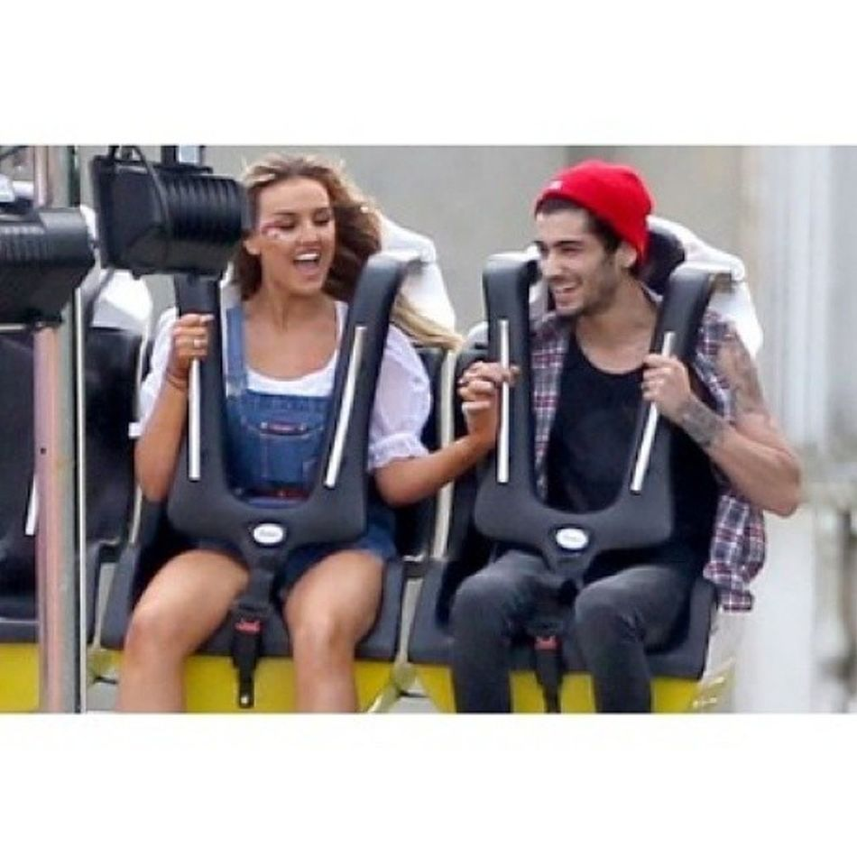 Awh!!!!:') Cute!!<3 Both so happy! So cute! Zayn Zainmalik Zerrie Perrieedwards Perrie onedirection Directioners Mixers littlemix