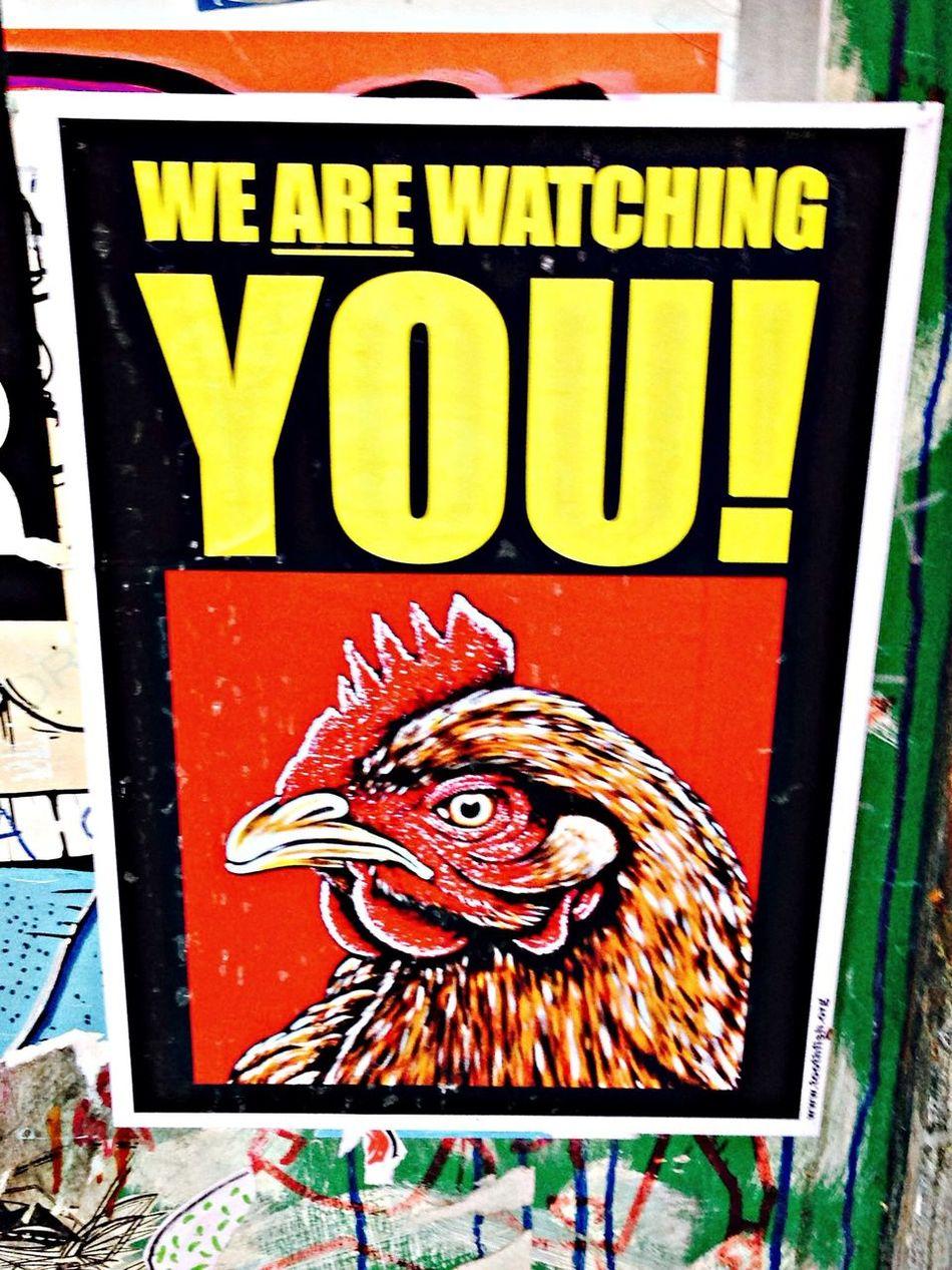 Street Art poster...