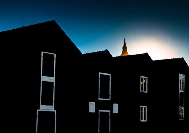 Church Photography Hello World Sweden Sunset Silhouettes Silhouette Darkness And Light Hudiksvall Folowforfollow Fotografhudiksvall Old House FotografhälsinglandQoutes Bluewhite Sunset Feppla Boat House Church