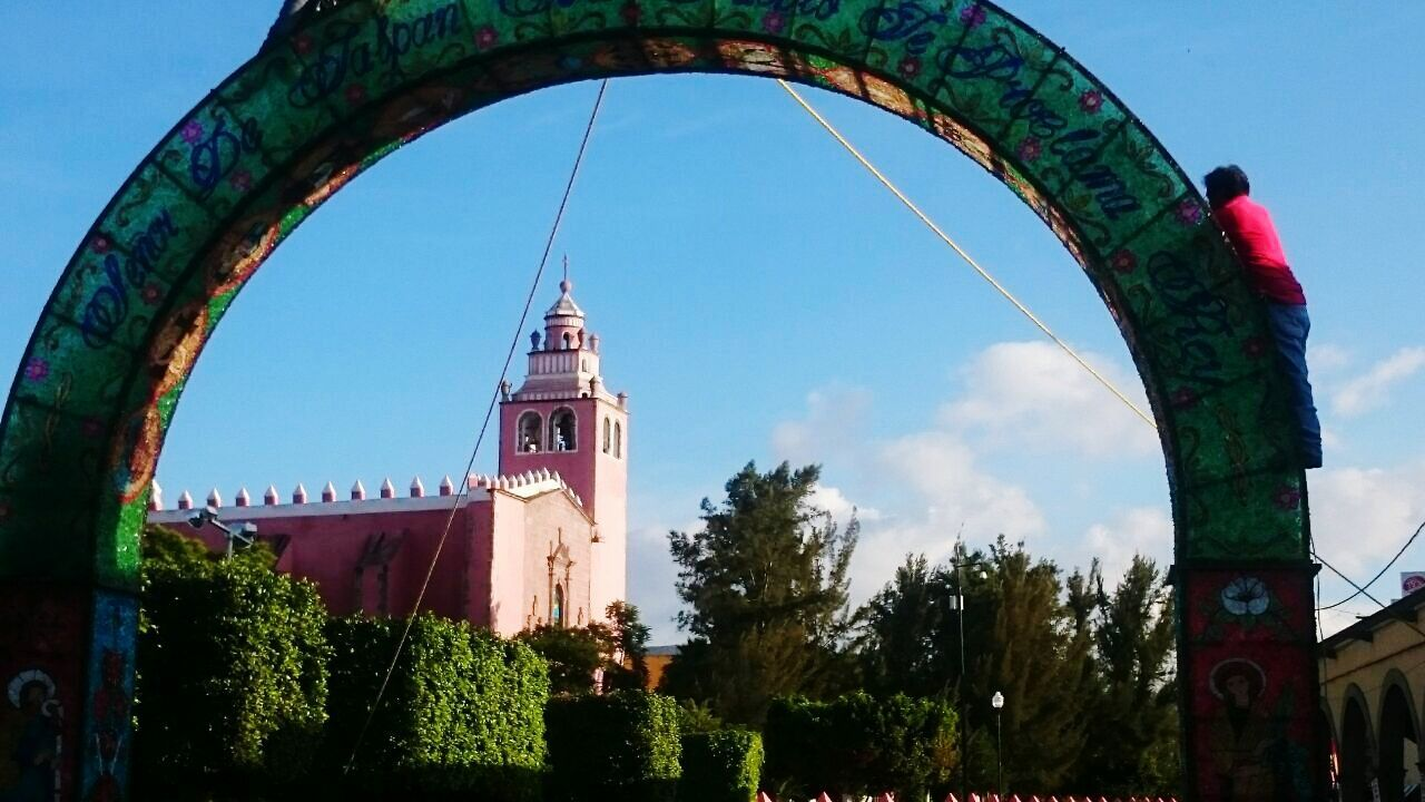 Arcos del señor de jalpan Fiestas Patronales IxmiquilpanHgo Tradicionesmx