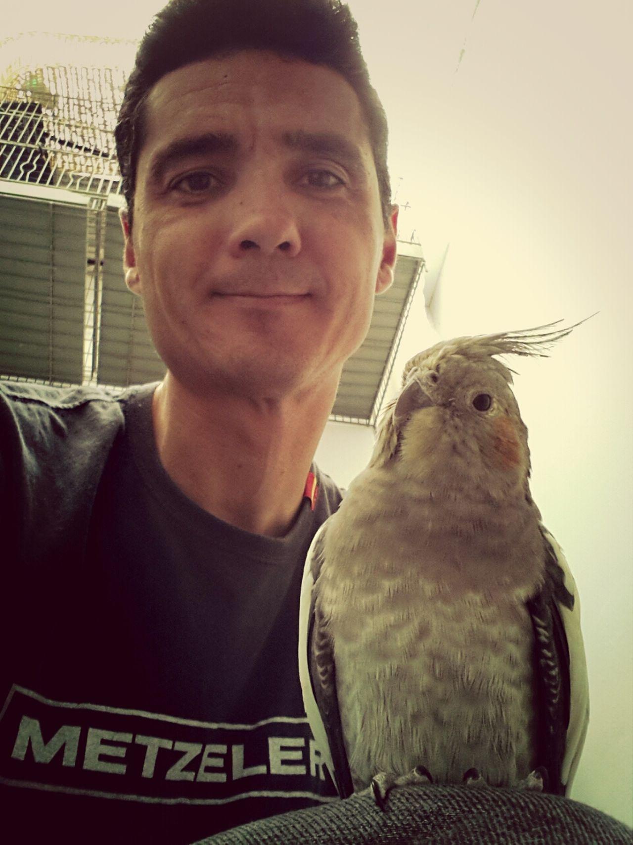 Mi Pollo Y Yo Selfy Hello World Relaxing