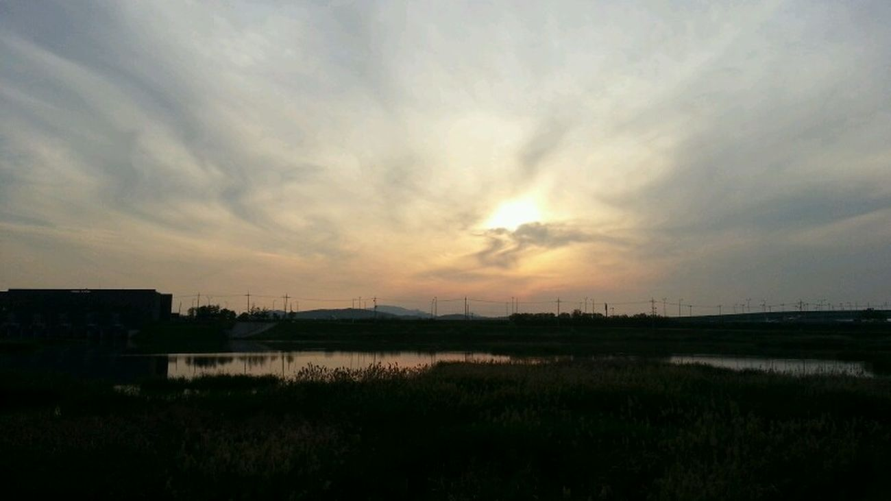 Sunset Paju, S. Korea