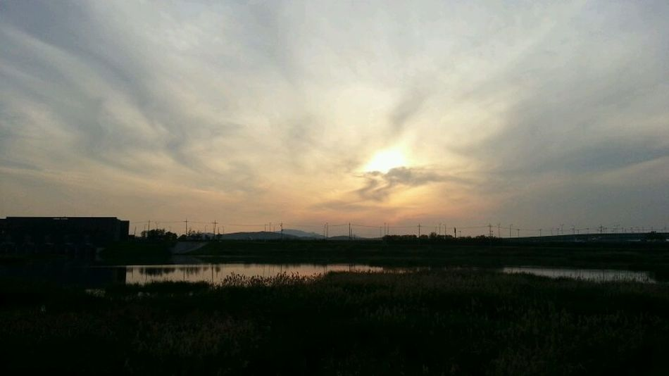 Sunset Paju, S. Korea