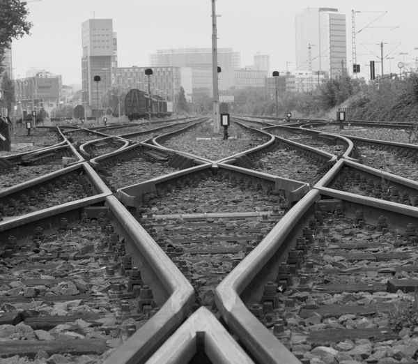 Building Exterior Architecture Built Structure Railroad Track No People Battle Of The Cities
