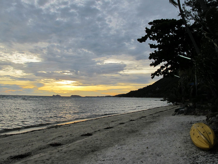 Beach Beauty In Nature Cloud - Sky Day Gulf Of Thailand Koh Phangan Nature No People Outdoors Sand Scenics Sea Sky Sunset Water Finding New Frontiers