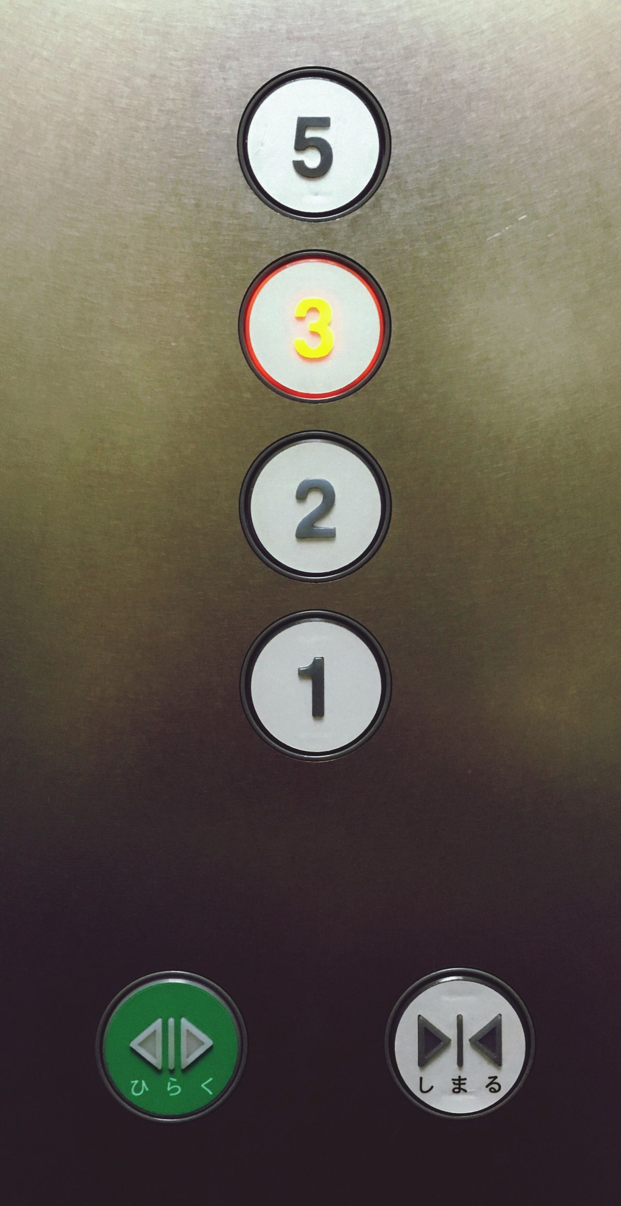Number No People Indoors  Elevator Button