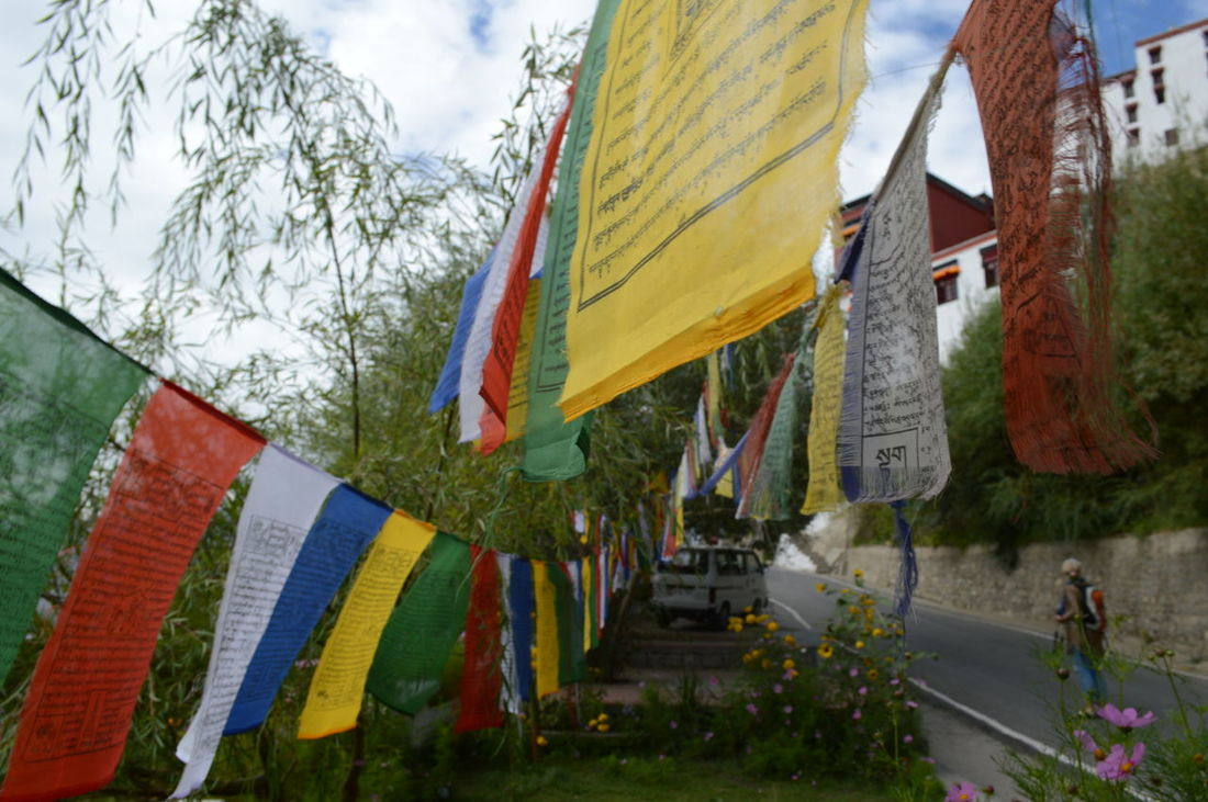 Prayer flags from sightseeing in Leh, Ladakh, August 2016. Himalayas Leh Leh Ladakh India Prayer Flags  Tibet Tibet Travel Tibetan Buddhism Tibetan Prayer Flags