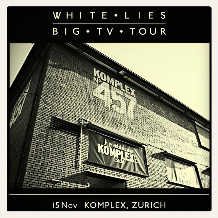 White Lies Big TV Zürich