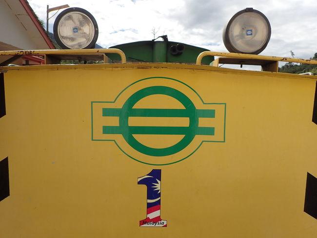Beaufort Sabah Close-up Headlights Malaysia Train - Vehicle Train Head Yellow