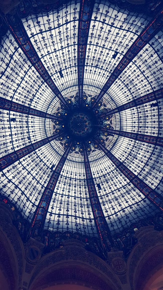 Galerieslafayette Paris Architectural Detail First Eyeem Photo